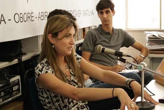Patrícia Campos Mello, repórter especial de O Estado de S. Paulo/ Foto: Lina Ibáñez